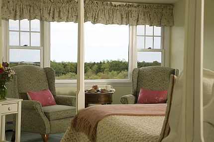 Accommodations in the Moonglow Room at this Cape Cod B&B